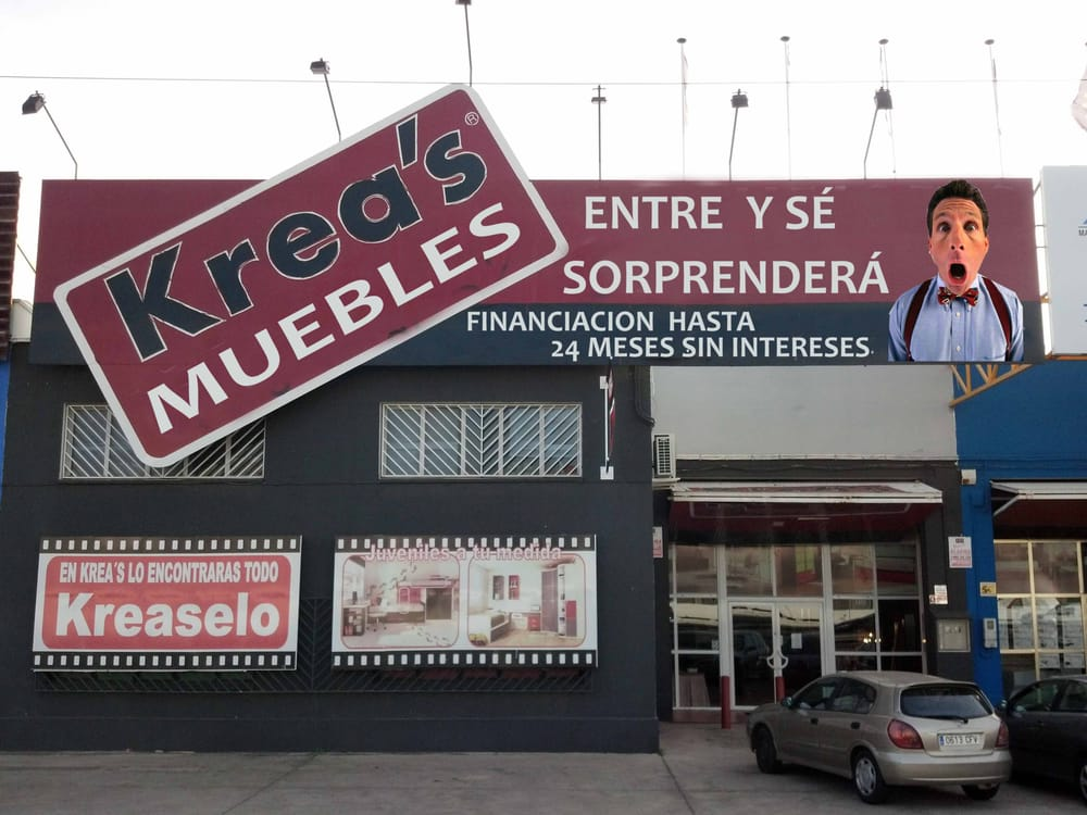 Kreas tiendas de muebles pol gono industrial la chaparrilla 20 torreblanca sevilla - Telefono registro bienes muebles madrid ...