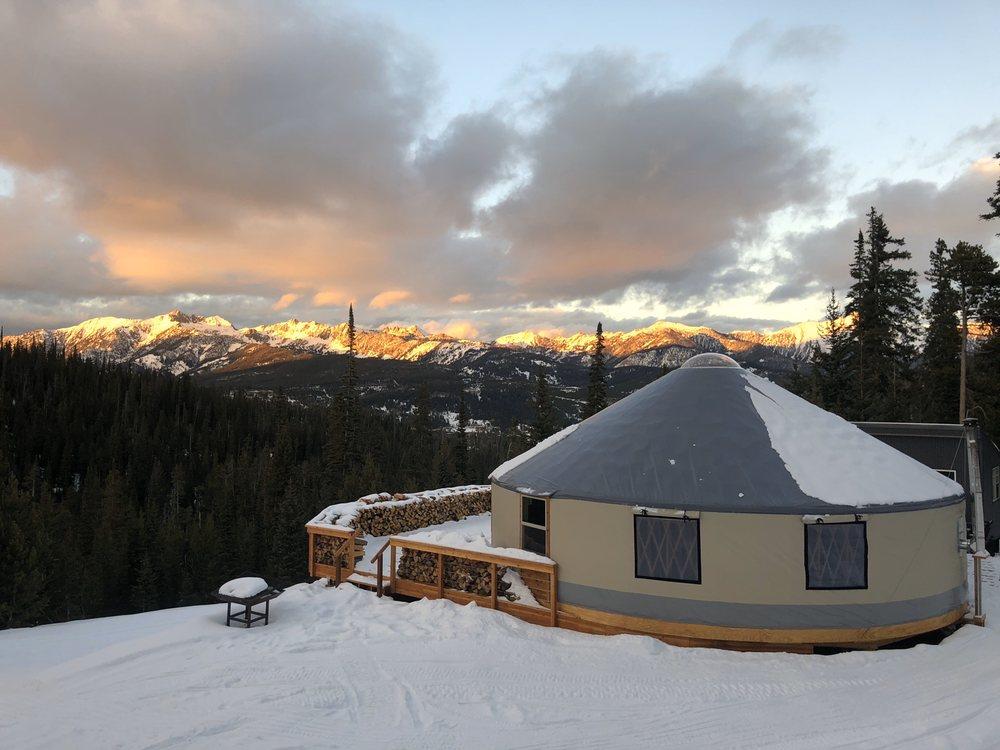 Montana Dinner Yurt: 1 Lone Mountain Trl, Big Sky, MT