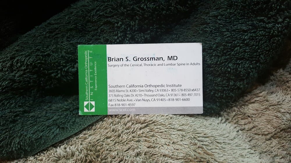 DR Brian S Grossman Doctor of Medicine | 6815 Noble Ave, Van Nuys, CA, 91405 | +1 (818) 901-6600