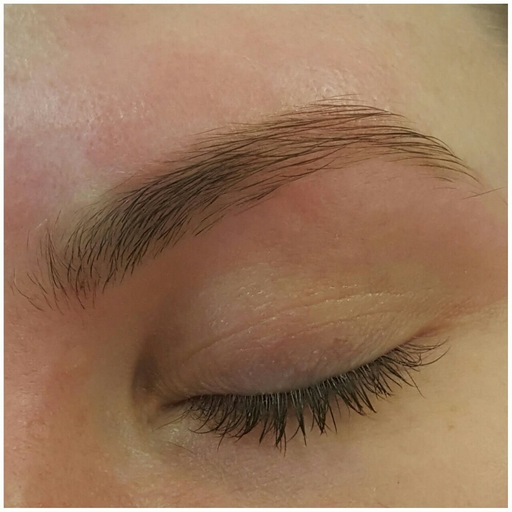 For Eyebrow Tint We Have Different Color Optionwe Use Light Brown