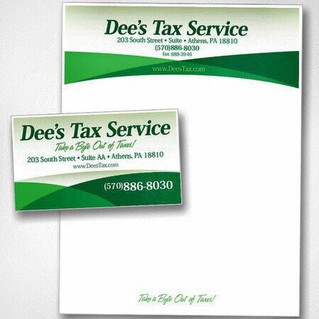 Dee's Tax Service: 203 South St, Athens, PA