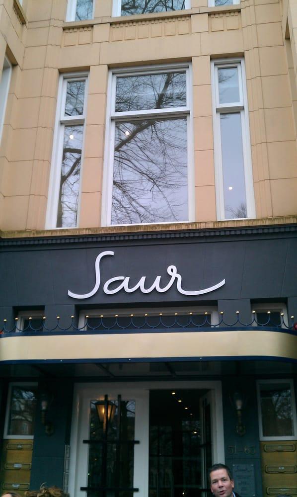 Restaurant saur restaurants lange voorhout 51 den for La fenetre den haag