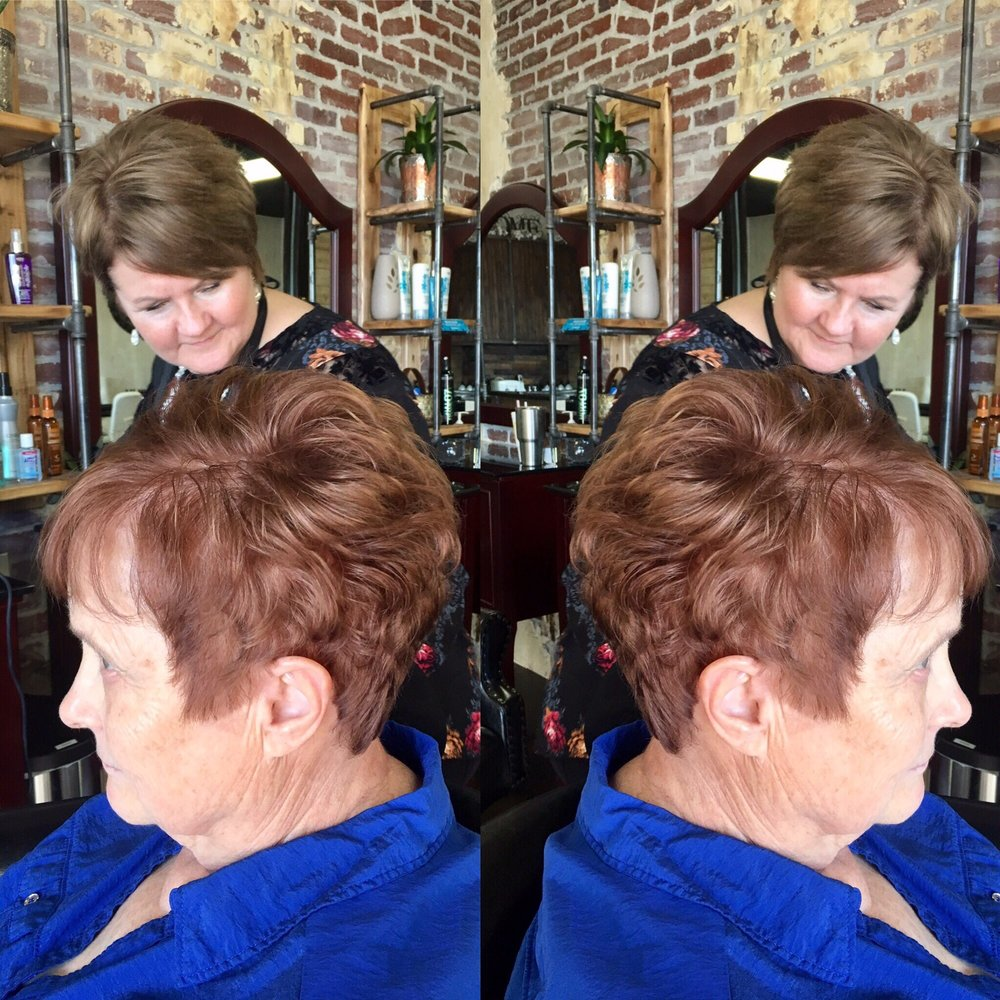 Lory With Her Haircut For Seniors Yelp