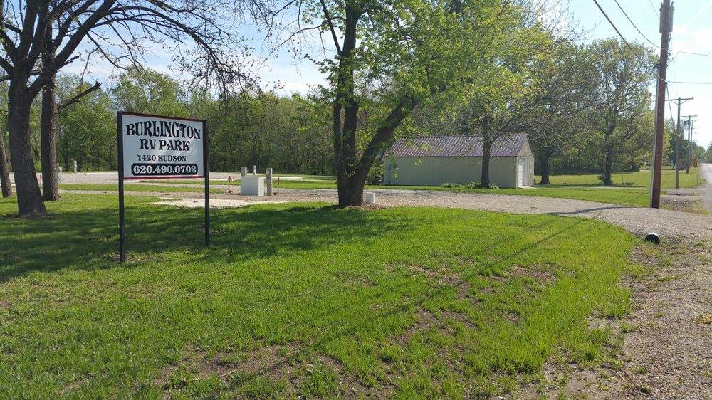 Burlington RV Park: 1420 Hudson St, Burlington, KS