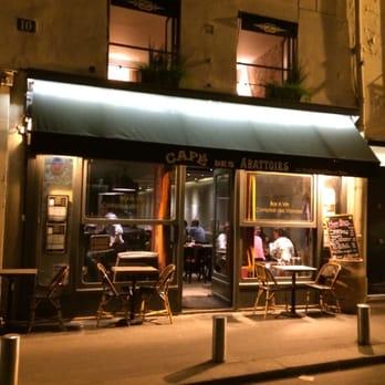 Caf Ef Bf Bd Des Abattoirs  Rue Gomboust  Paris France