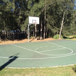 Photo Of Bicentennial Park Outdoor Basketball Court   Concord West New  South Wales, Australia.