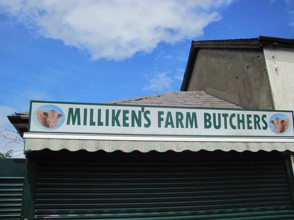 Milliken's Farm Butchers: 90 Church St, Bangor, NDN