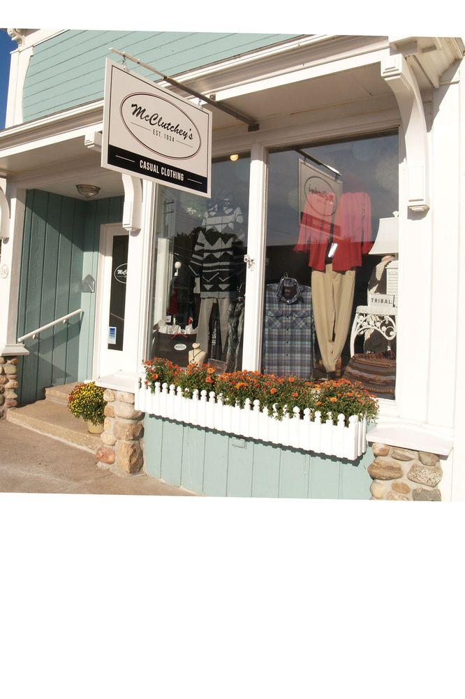 McClutcheys: 250 State St, Harbor Springs, MI