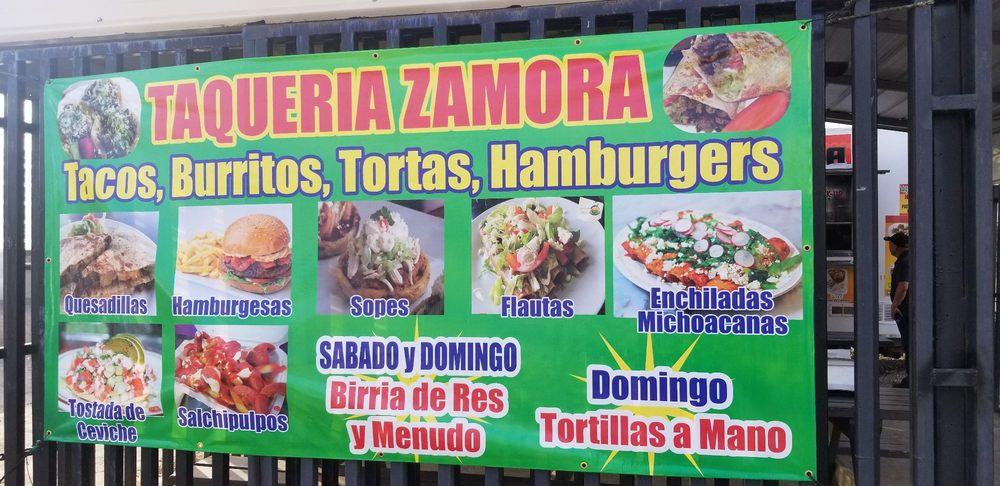 Taqueria Zamora: 111 St Las Palmas Ave, Patterson, CA