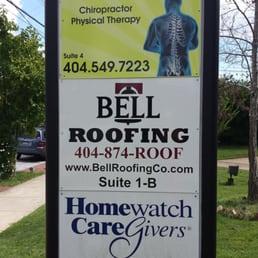 Photo Of Bell Roofing   Atlanta, GA, United States. Signage