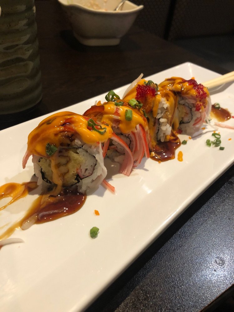 Food from Sakura Japanese Steakhouse