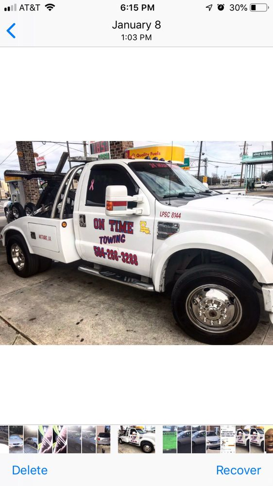 On Time Towing: 25 Union St, Kenner, LA