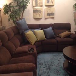 Photo Of Bassett Furniture   Pleasant Hill, CA, United States. Comfy Brown  Couch