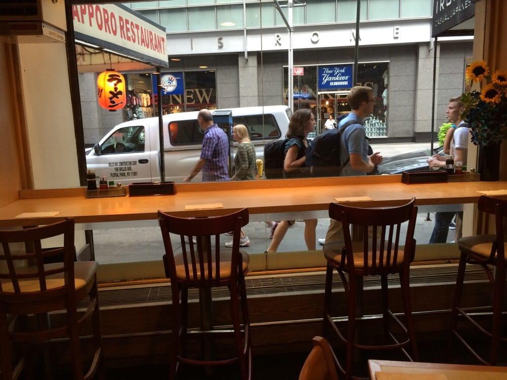 Window counter seating - Yelp