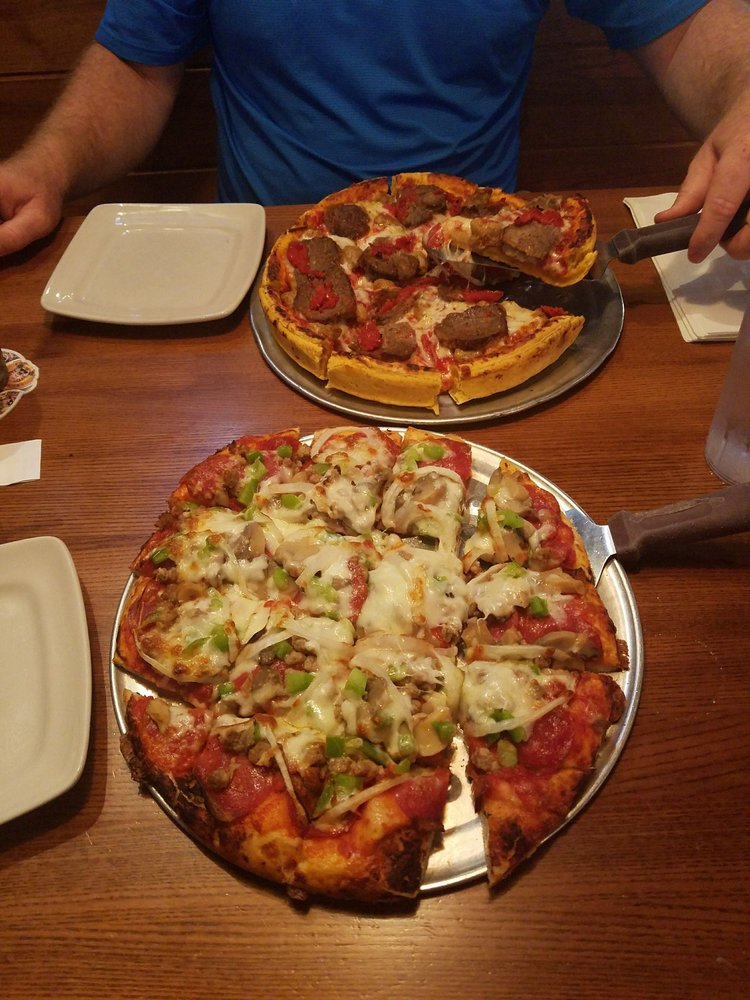 Food from Beer Barrel Pizza and Grill