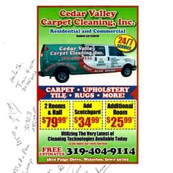 Cedar valley carpet cleaning pulitura tappeti 1151 for Community motors waterloo iowa