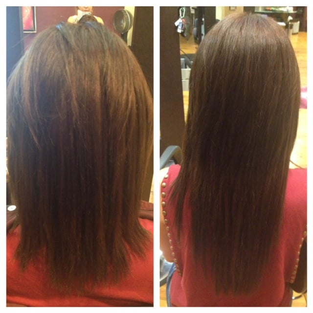 Micro Bead Extensions Before And After By Maka Yelp