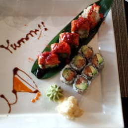 Mizu Hibachi & Sushi - New City, NY, United States. This is a lunch special.  Look at the presentation!