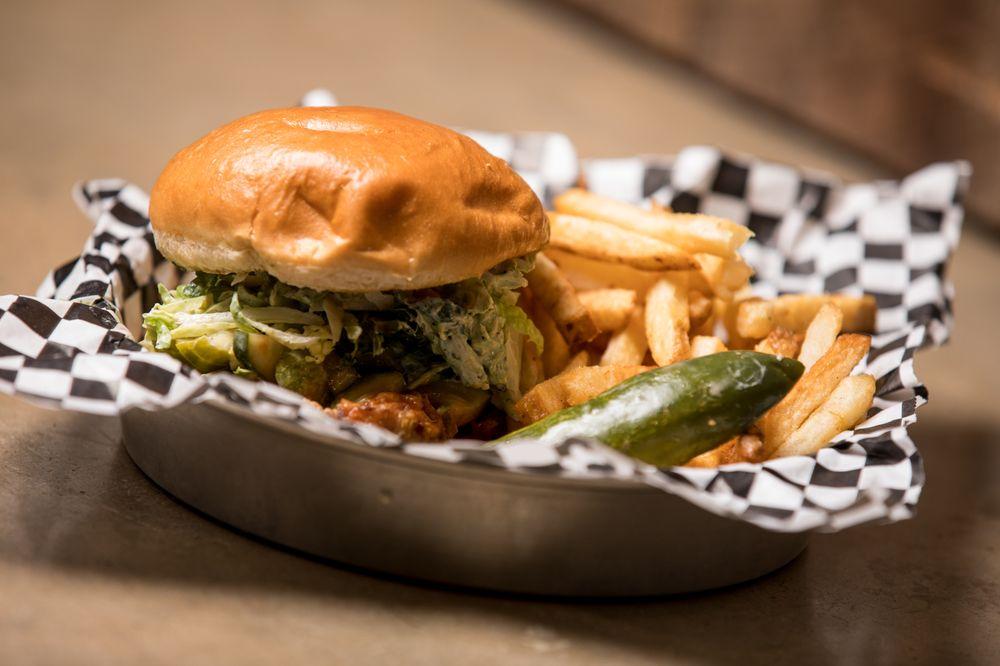 Chicken N Pickle: 8400 N Oklahoma Ave, Oklahoma City, OK