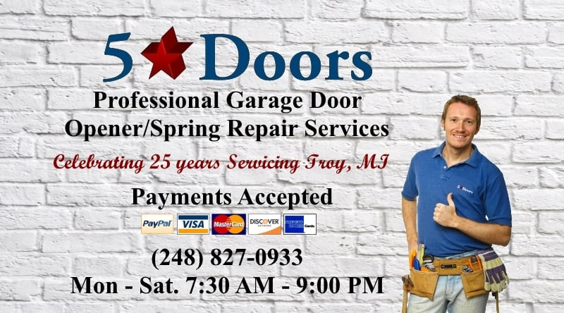 Five Star Doors: 32620 Grand River Ave, Farmington, MI