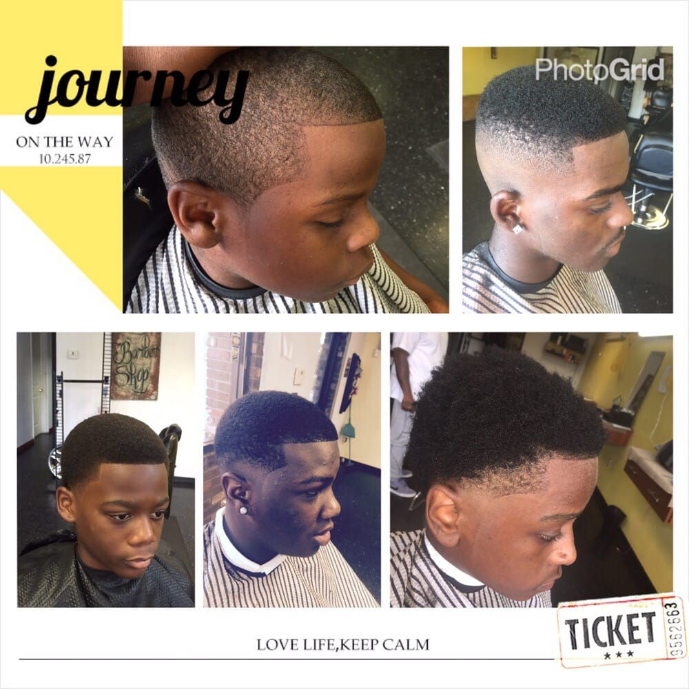 From The Top Left Low Boy:high Top Fade/Afro/low Fade/temp