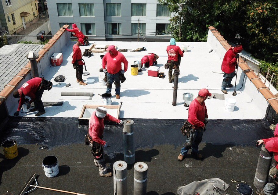 Flat Roof Replacement In Corona Queens Ny Royal