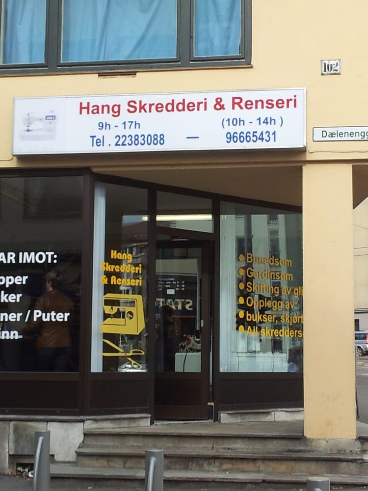 c4076019c830 Hang Skredderi   Renseri - Sewing   Alterations - Trondheimsveien ...