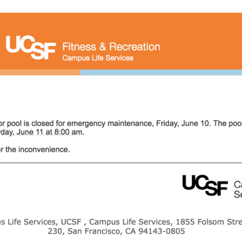 Ucsf Mini Fitness Center