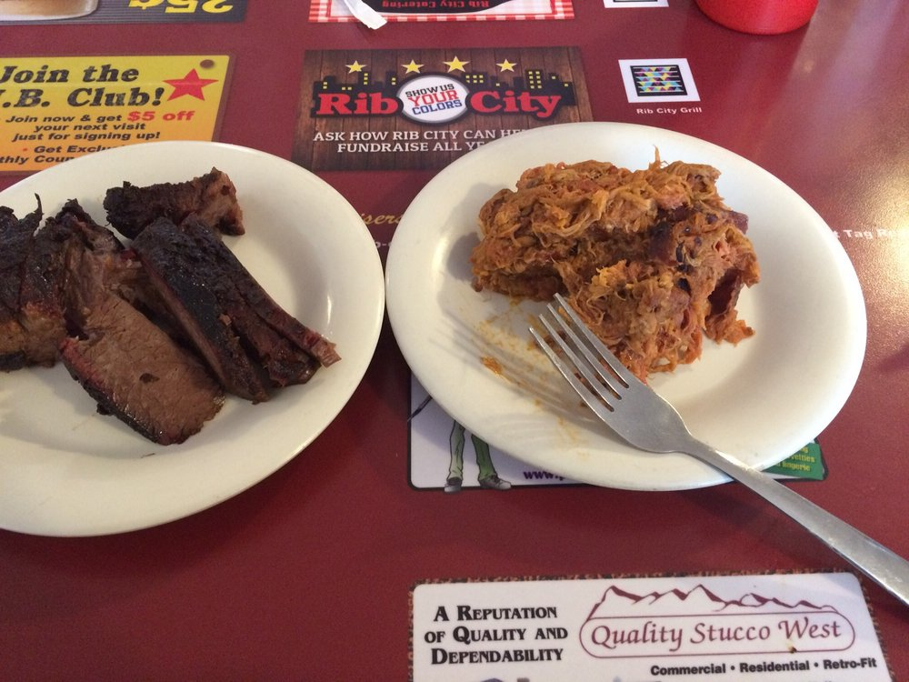 Food from Rib City-Grand Junction