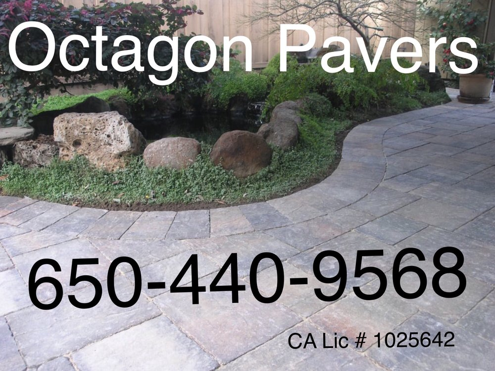 Octagon Pavers and Outdoor Living: Palo Alto, CA