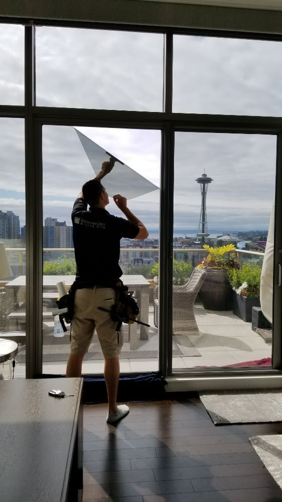 Photo of Enhanced Glass Window Film: Seattle, WA