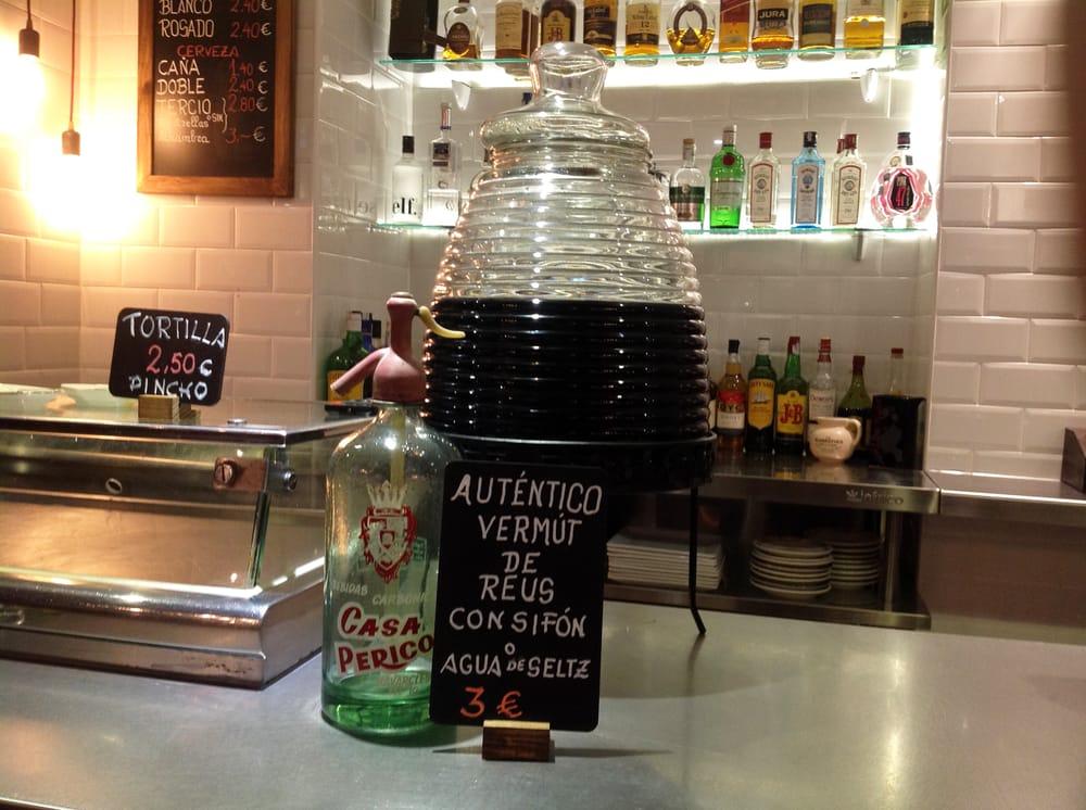 Vermouth de reus con sif n aut ntico yelp - Casa perico madrid ...