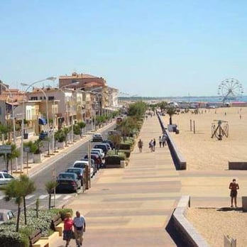 Valras plage plages rue de la plage valras plage - Office du tourisme valras plage herault ...