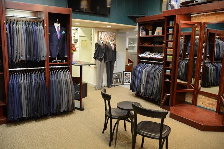The Brass Horn Men's Clothing: 108 E Prairie Ave, Decatur, IL