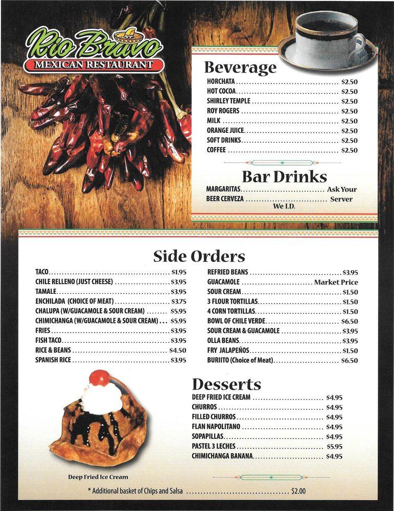Rio Bravo Family Mexican Restaurant: 240 Grand Ave, Paonia, CO