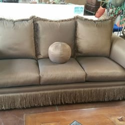 Photo Of IConsign Stores   Phoenix, AZ, United States. Custom Made Silk  Couch