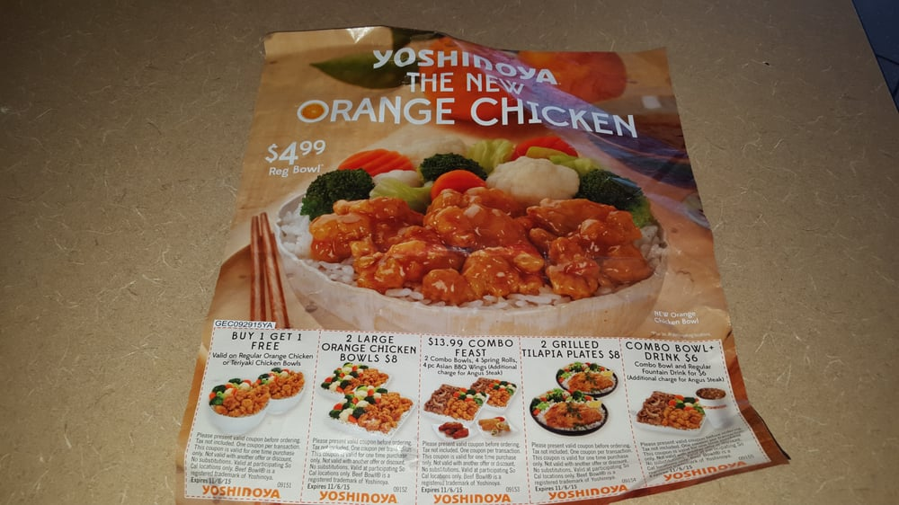 picture relating to Yoshinoya Coupons Printable referred to as Yoshinoya coupon print - Utmost freebies master in the direction of fly 2
