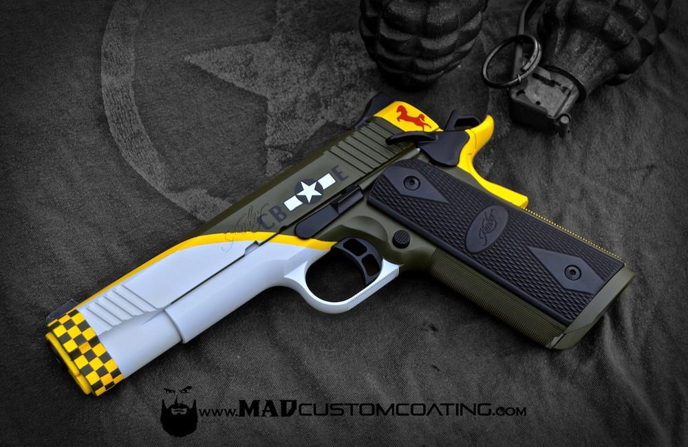 mad custom coating mustang theme 1911 yelp