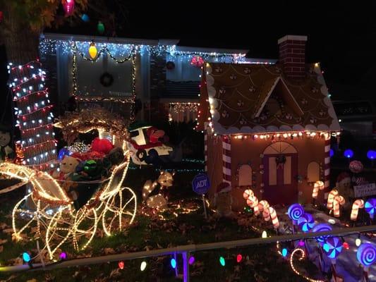 Christmas Lights In Rancho Cucamonga Boise Alta Loma Christmas