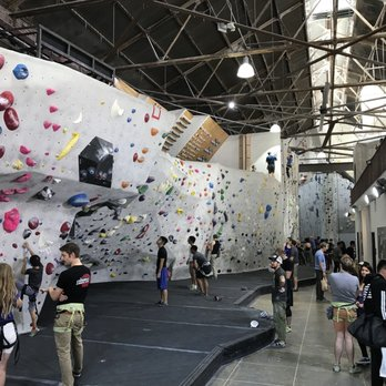 P O Of The Stronghold Climbing Gym Los Angeles Ca United States View