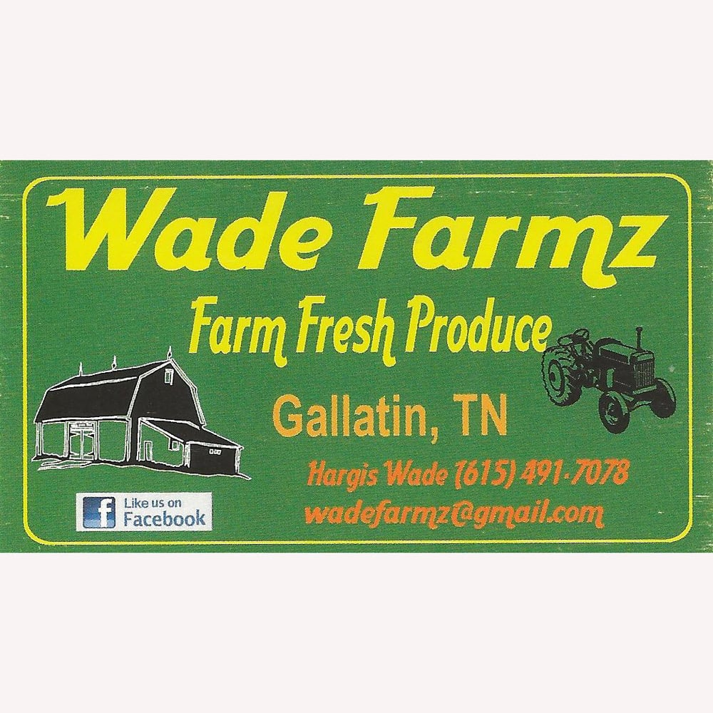 Wade United States  City new picture : Wade Farmz Farmers' Market 669 Dobbins Pike, Gallatin, TN, United ...