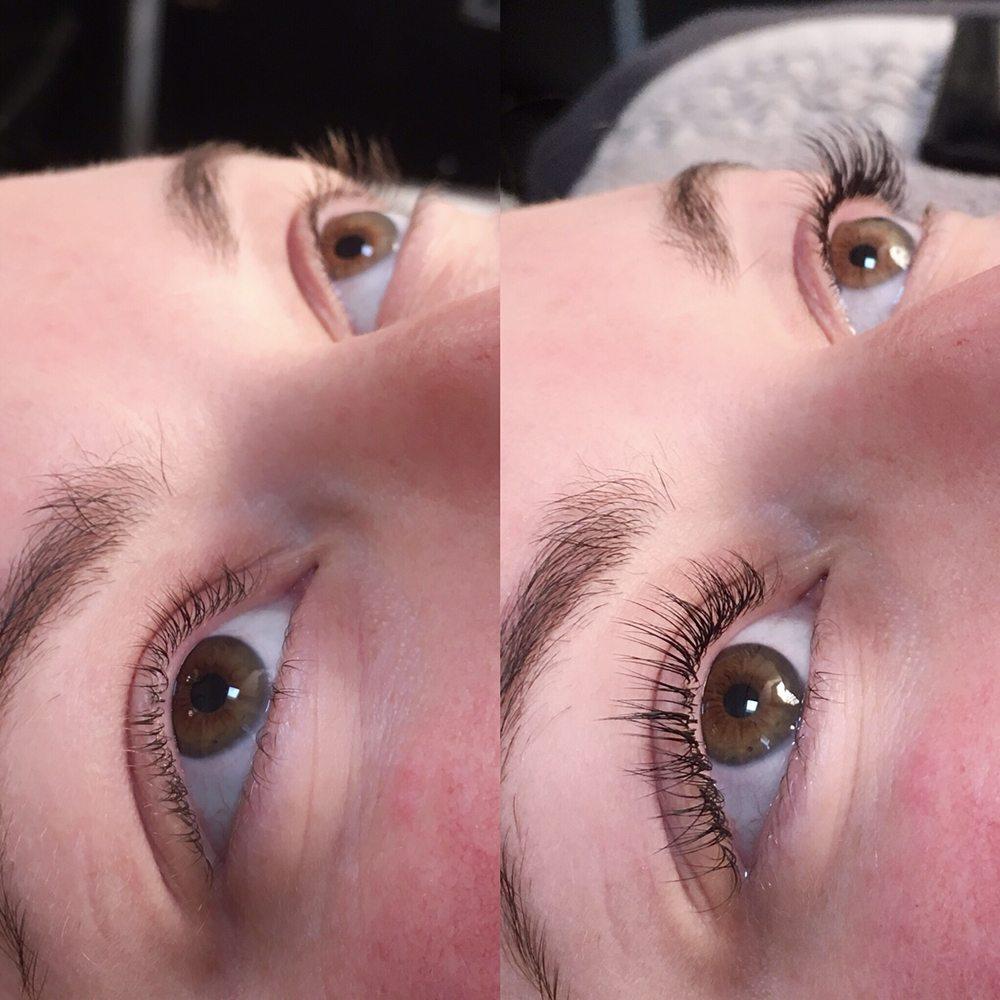 Natural looking lash extensions by Kae. - Yelp