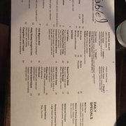 Table Photos Reviews Seafood W Fort Macon Rd - Table 9 menu