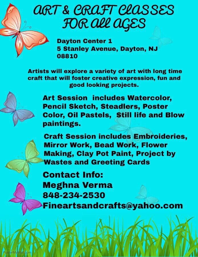 Art And Craft Classes In Dayton Nj Yelp