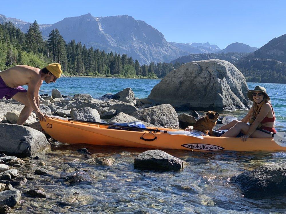 Mammoth Kayaks: Mammoth Lakes, CA