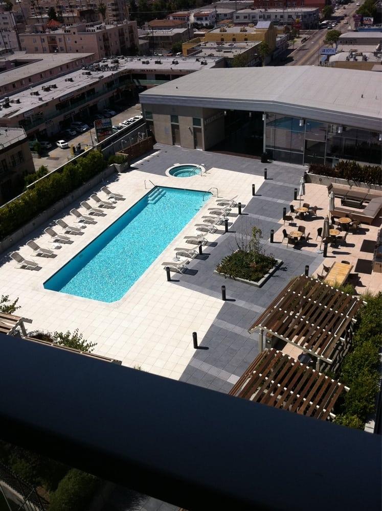 Pool deck lounge chairs and cabanas Yelp