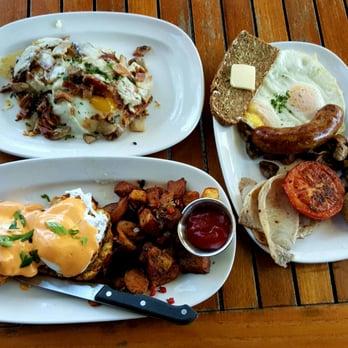 ... CA, United States. Farmer's Breakfast, Irish Bacon Benedict, & Fr...
