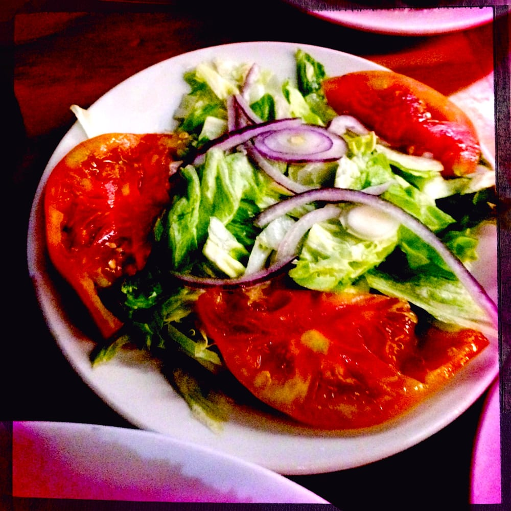 Side salad yelp for Garcia s seafood grille fish market