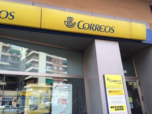 Oficina de correos uffici postali avinguda del general for Horario oficina de correos valencia