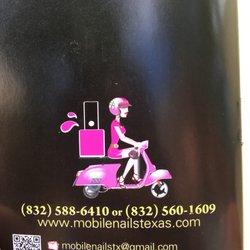 Mobile Nail Salon Houston Tx